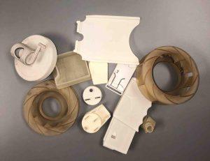 3d printed parts components